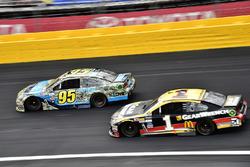 Michael McDowell, Leavine Family Racing, Chevrolet; Jamie McMurray, Chip Ganassi Racing, Chevrolet
