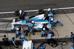 Marco Andretti, Andretti Autosport with Yarrow Honda pit stop