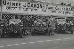 Экипажи Lorraine-Dietrich в «24 часах Ле-Мана» 1926 года