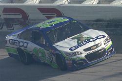 Ty Dillon, Germain Racing Chevrolet, crash