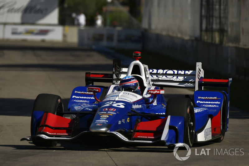 2017: Takuma Sato (Andretti-Honda) mit 1:13,673 Minuten