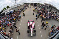 Pippa Mann, Dale Coyne Racing Honda Gasoline Alley