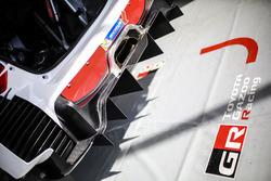 Toyota Yaris WRC, Toyota Racing, detail