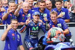 Third place Maverick Viñales, Yamaha Factory Racing