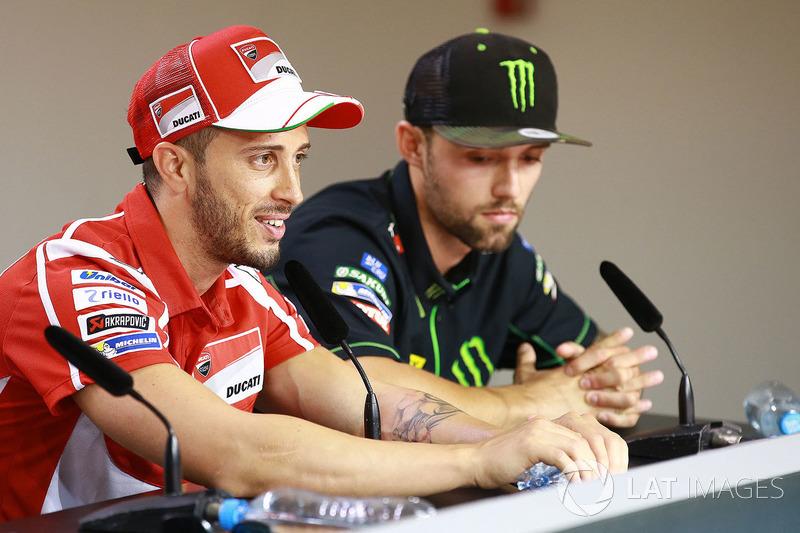 Andrea Dovizioso dan Jonas Folger