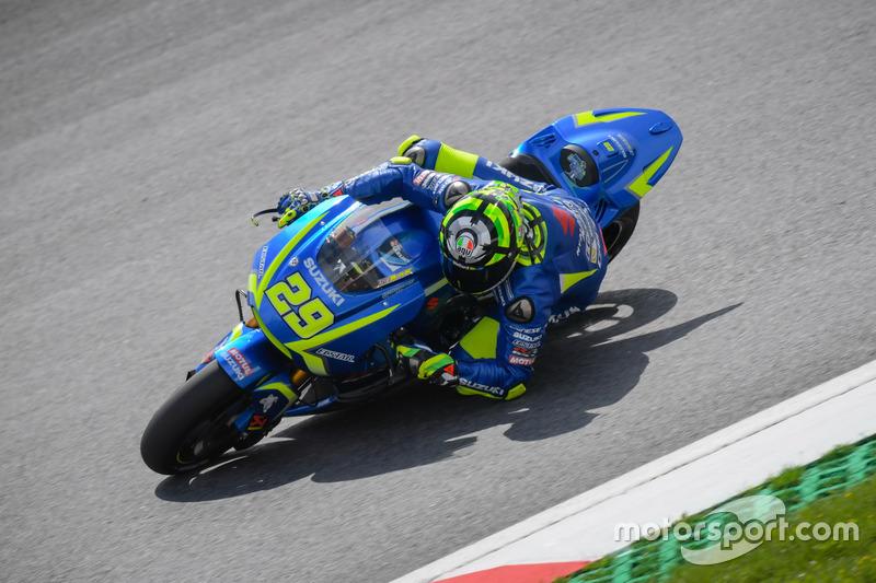 10. Andrea Iannone, Team Suzuki MotoGP