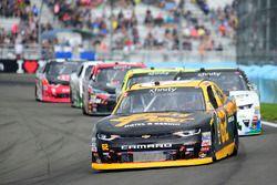 Brendan Gaughan, Richard Childress Racing Chevrolet, Blake Koch, Kaulig Racing Chevrolet