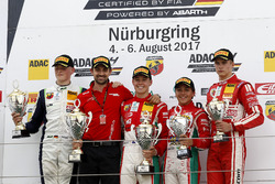 Podium: 1. Marcus Armstrong, Prema Powerteam, 2. Julian Hanses, US Racing, 3. Enzo Fittipaldi, Prema