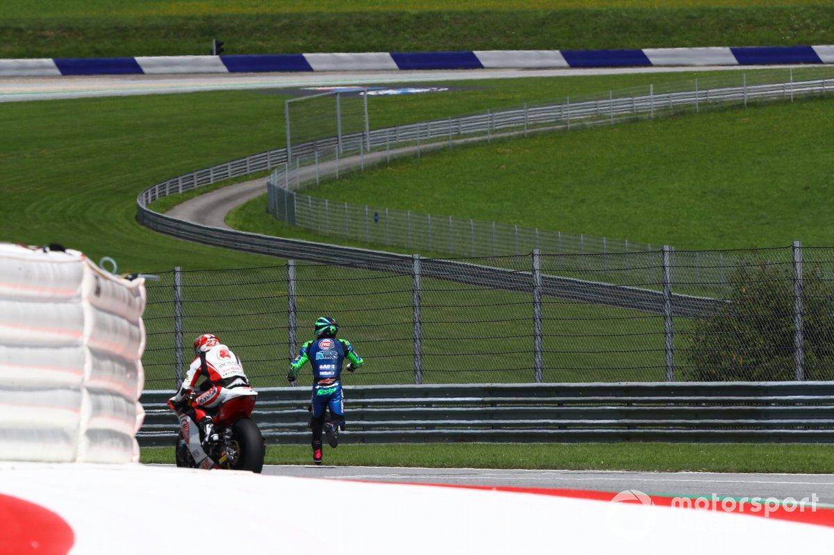 Accidente Enea Bastianini, Italtrans Racing Team