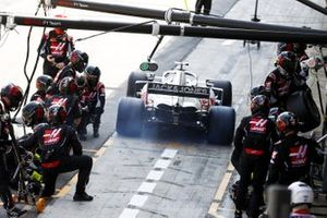 Romain Grosjean, Haas VF-20, lascia i box