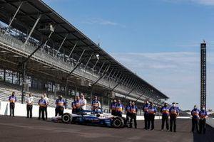 Takuma Sato, Rahal Letterman Lanigan Racing Honda and team