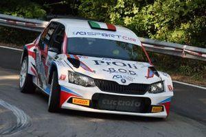 Alessio Profeta, Sergio Raccuia, Island Motorsport, SKODA Fabia R5
