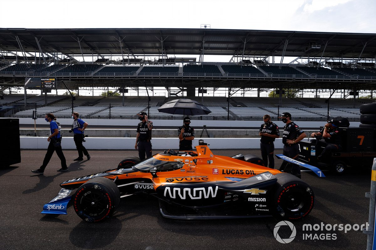 21º Oliver Askew, Arrow McLaren SP – Chevrolet