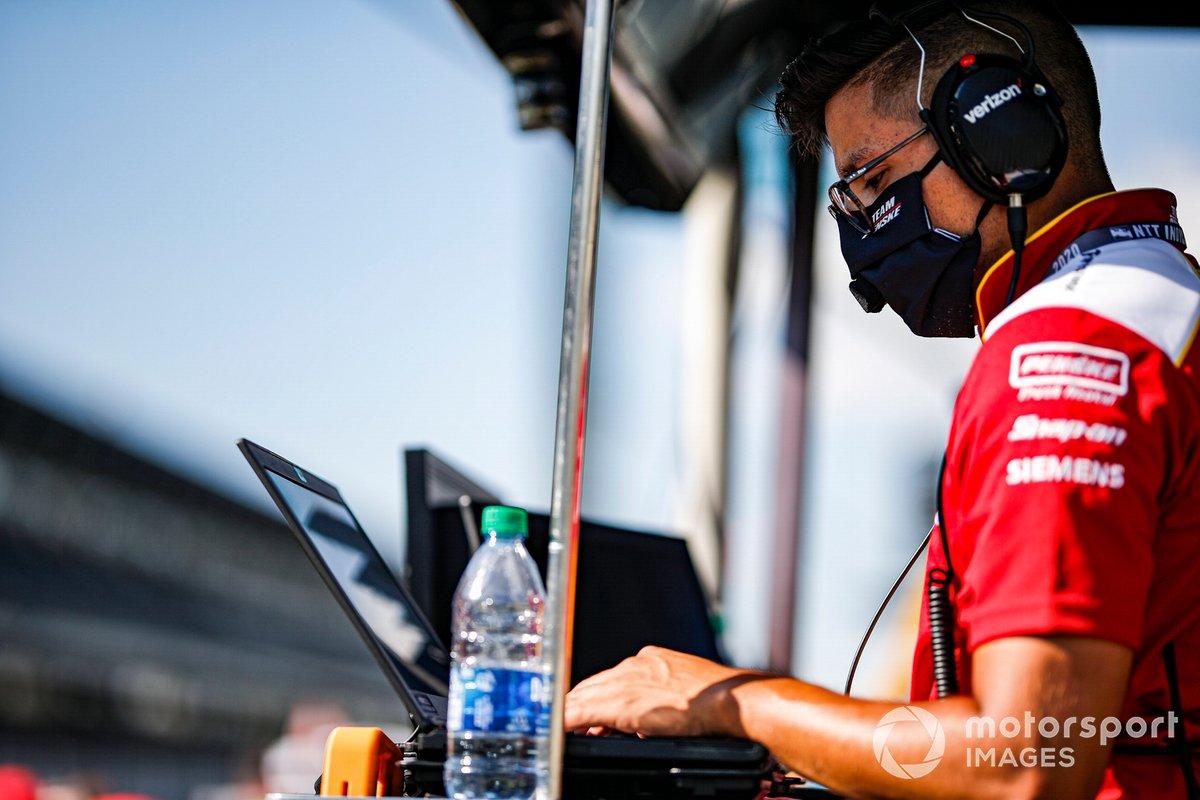 Josef Newgarden, Team Penske Chevrolet, ingeniero
