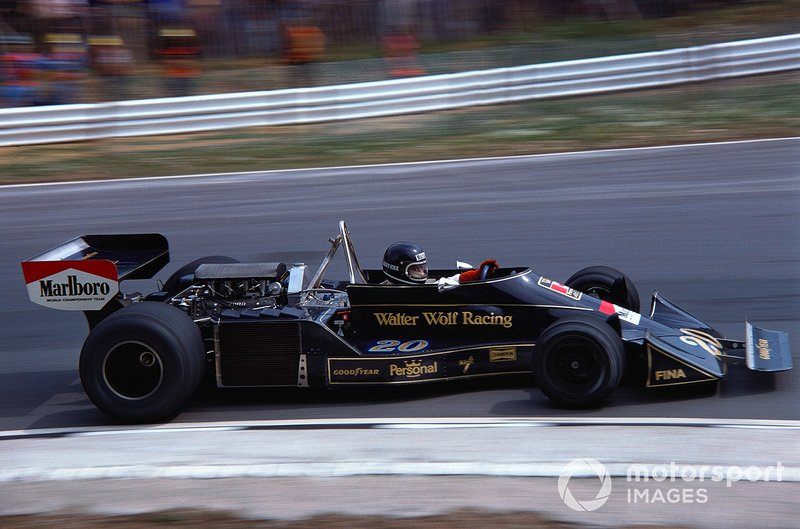 Jacky Ickx, Wolf-Williams FW05 Ford