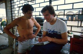 Philippe Alliot and Jonathan Palmer, RAM 02, 8th