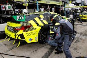 #14 AIM Vasser Sullivan Lexus RC-F GT3, GTD: Jack Hawksworth, Aaron Telitz, pit stop