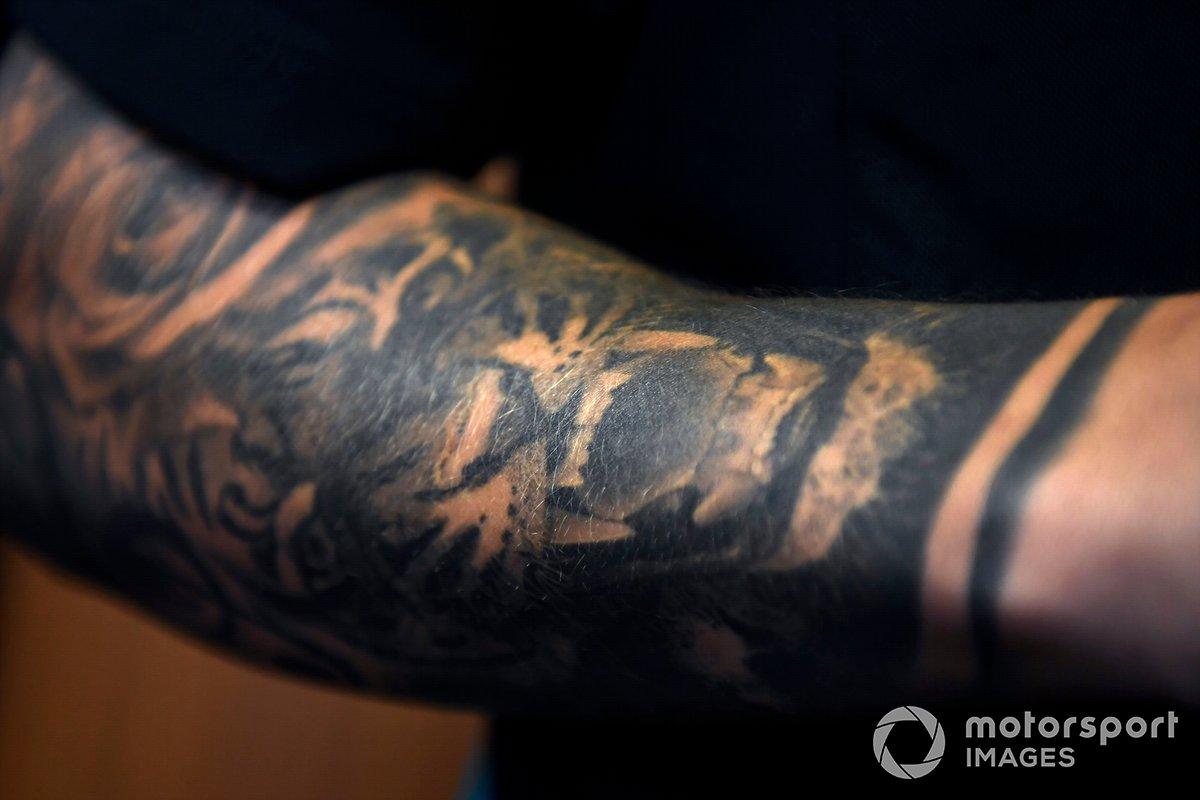 Tatuaje de Fabio Quartararo, Petronas Yamaha SRT