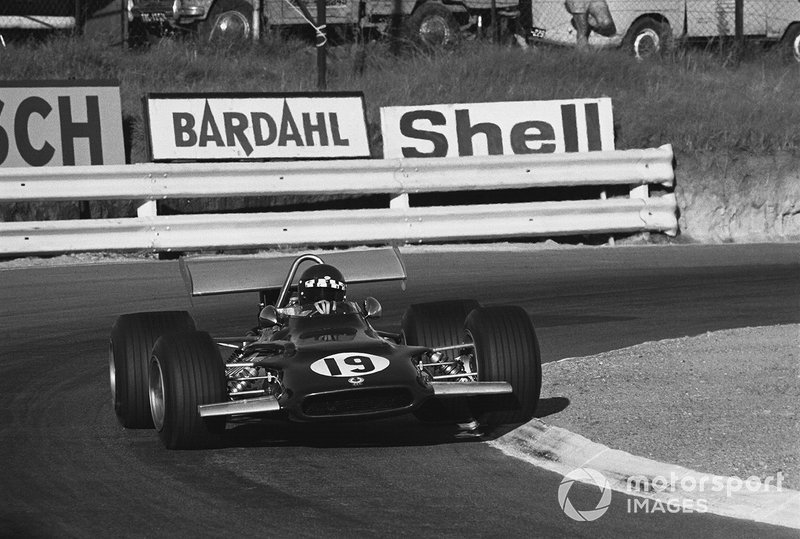 Jackie Oliver,B.R.M. P153, GP del Sud Africa del 1970