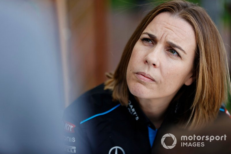 Claire Williams, jefa de equipo de Williams Racing