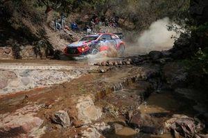 Отт Тянак и Мартин Ярвеоя, Hyundai i20 Coupe WRC