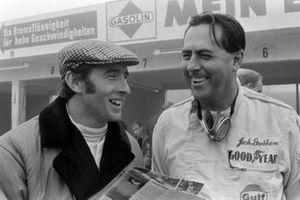 Jackie Stewart and Jack Brabham, Brabham