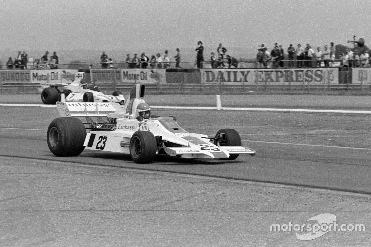 Tony Brise, Hill GH1, Carlos Reutemann, Brabham BT44B