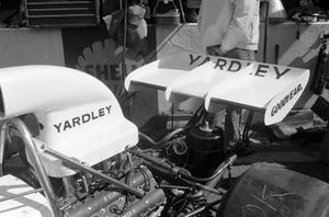 The rear of Denny Hulme's McLaren M19C Ford
