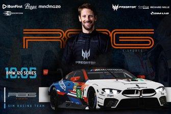 Romain Grosjean, BMW SIM 120 Cup
