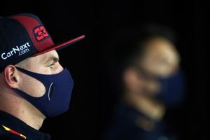 Max Verstappen, Red Bull Racing in conferenza stampa