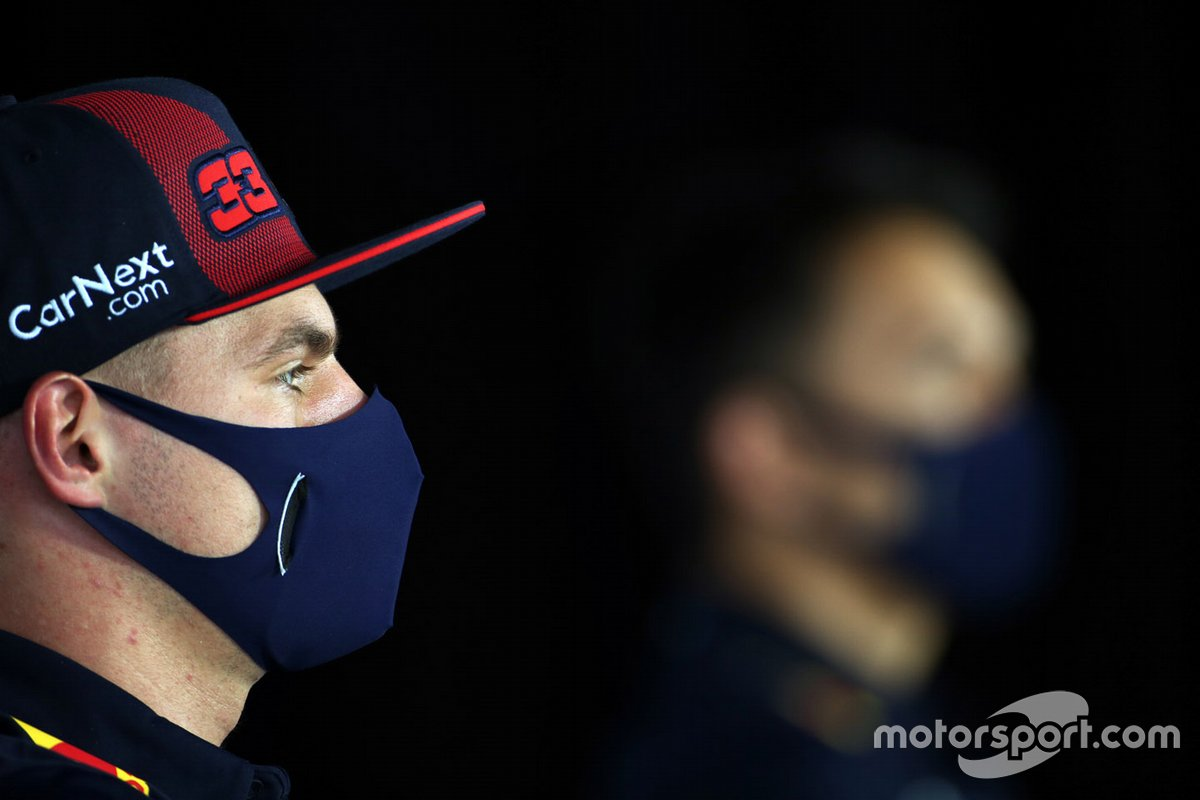 Max Verstappen, Red Bull Racing en la conferencia de prensa