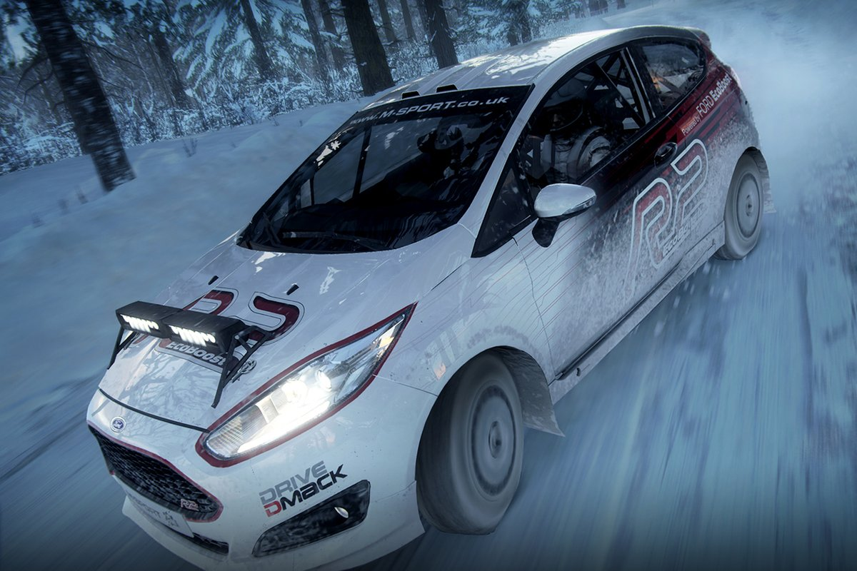 Ford Fiesta R2 action