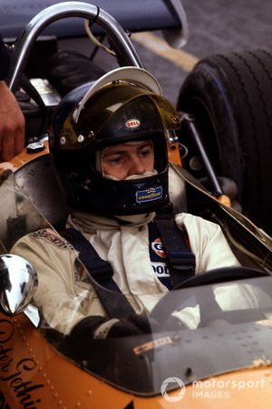 Peter Gethin, McLaren M14A-Ford Cosworth