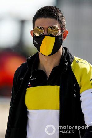 Esteban Ocon, Renault F1 arrives