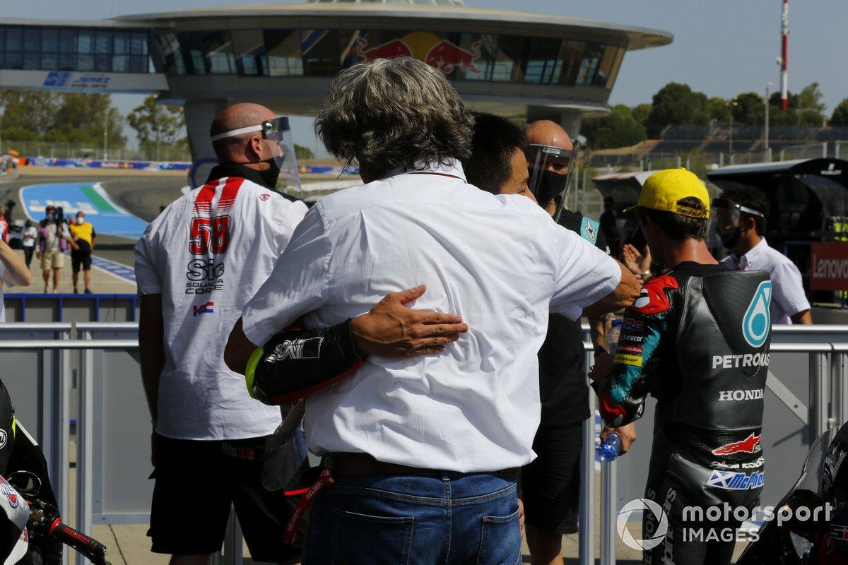 Paolo Simoncelli and Tatsuki Suzuki, SIC58 Squadra Corse