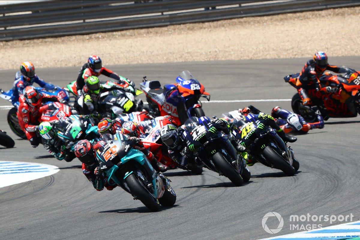 Fabio Quartararo, Petronas Yamaha SRT líder al inicio