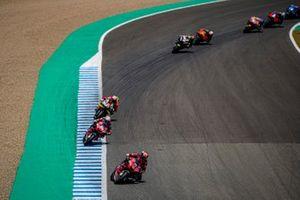 Danilo Petrucci, Ducati Team, Andrea Dovizioso, Ducati Team, Aleix Espargaro, Aprilia Racing Team Gresini