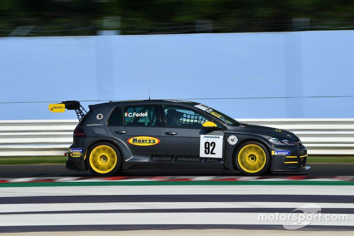 Carlotta Fedeli, RC Motorsport, Volkswagen Golf GTI TCR