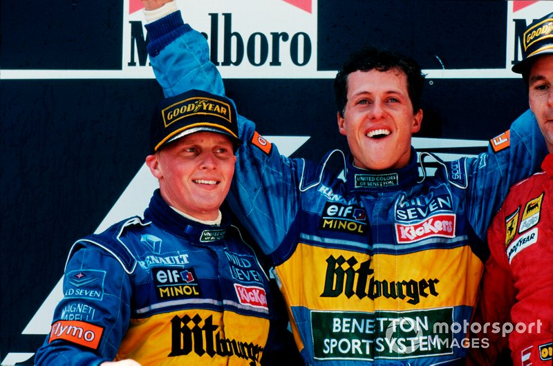 1994-1995 - Johnny Herbert et Michael Schumacher
