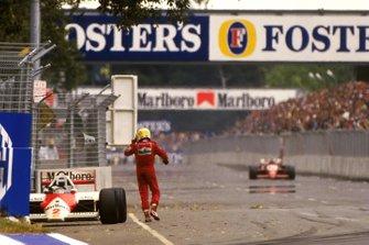 Ausfall: Keke Rosberg, McLaren MP4/2C