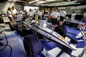 Stefano Modena, Tyrrell 020 Honda en Satoru Nakajima, Tyrrell 020 Honda