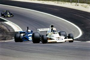 Майк Хейлвуд, McLaren M23 Ford, Джоди Шектер, Tyrrell 007 Ford