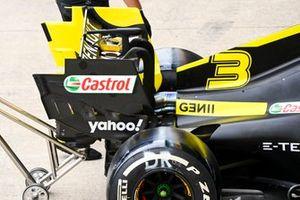 Rear wing of Daniel Ricciardo, Renault F1 Team R.S.20