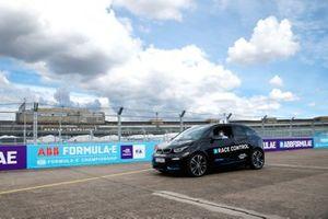 BMW race control car