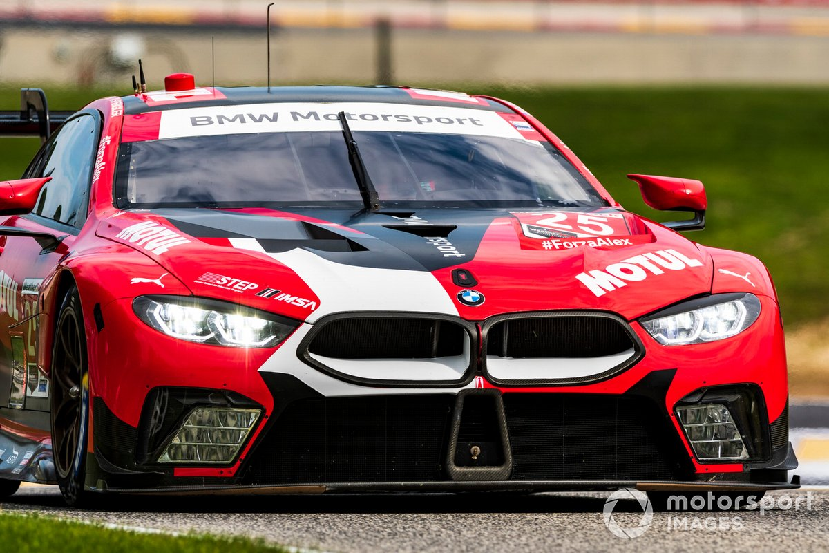 #25 BMW Team RLL BMW M8 GTE, GTLM: Connor De Phillippi, Bruno Spengler