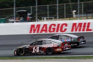 Клинт Боуйер, Stewart-Haas Racing, Ford Mustang, Кевин Харвик, Stewart-Haas Racing, Ford Mustang