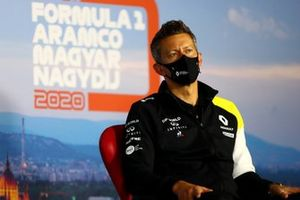 Marcin Budkowski, Executive Director, Renault F1 Team, in the Team Principals Press Conference