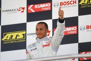 Ganador Lewis Hamilton, ASM F3 Dallara F305 Mercedes
