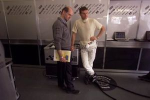 David Coulthard, McLaren and Adrian Newey