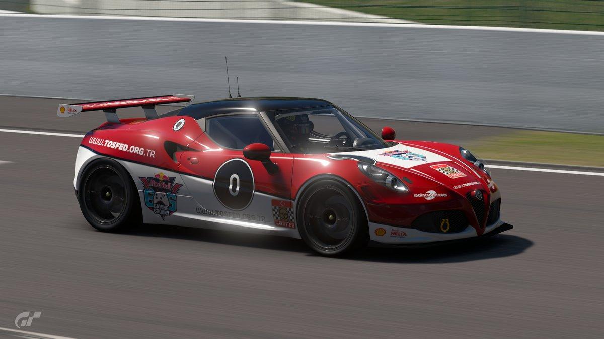 Alfa Romeo 4C, Gran Turismo, TOSFED Dijital Pist Şampiyonası